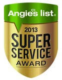 Angie's List 2013 Award